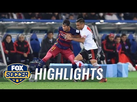 River Plate vs. Barcelona | 2015 FIFA Club World Cup Highlights