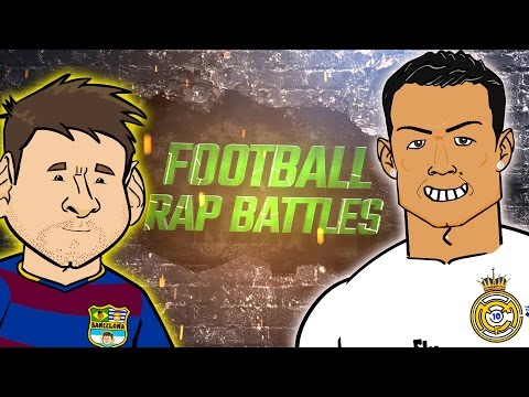 Messi vs Ronaldo RAP BATTLE! (El Clasico 2016 Preview, Barcelona vs Real Madrid)