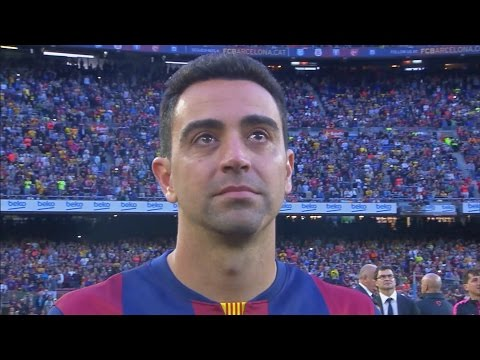 FC Barcelona – La Liga Celebration and Xavi's Farewell