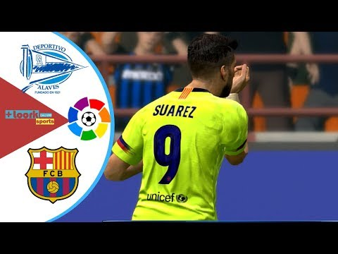 Alaves vs Barcelona – Highlights & Goals / Resumen | la liga