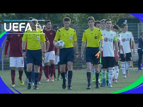 Roma 5-1 Leverkusen: UEFA Youth League highlights