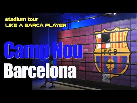 Begini Rasanya Masuk STADION BARCELONA – Camp Nou Stadium Tour, Like A Barca Player