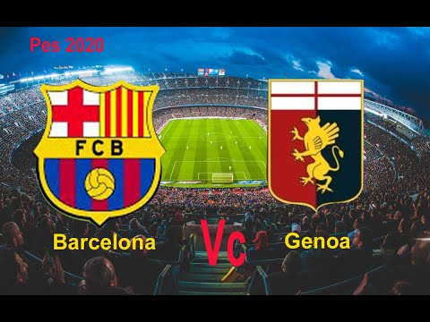 Barcelona Vs Genoa Football Gameplay 2020 | Football Match Today
