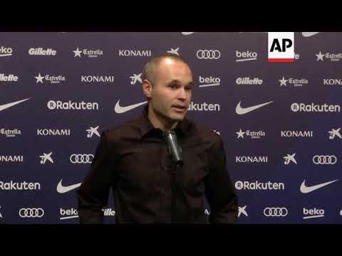 Barcelona FC captain Iniesta on Catalonia tensions