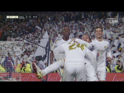 Mariano Díaz Goal Real Madrid vs Barcelona 2-0  4K 60P