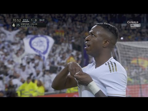 Vinicius Júnior Goal Real Madrid vs Barcelona 2-0   4K 60P