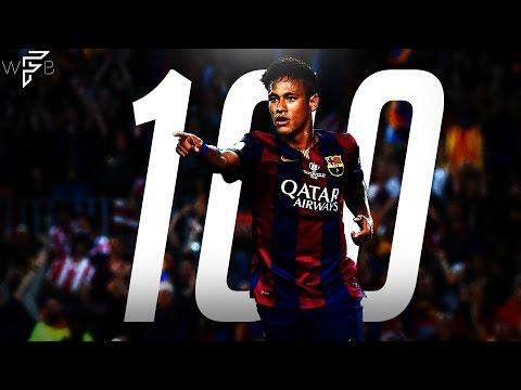 Neymar Jr. – All 100 Barcelona Goals – Magnificent Goals! | 4K