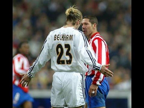 David beckham vs Atlético Madrid II II Real Madrid 2003-2004-Man of the match