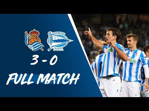 FULL MATCH | Real Sociedad 3 – 0 Deportivo Alavés LaLiga