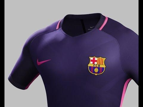 Nike Unveils FC Barcelona Away Kit 2016/17