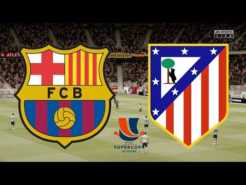 Supercopa De Espana 2020 – FC Barcelona Vs Atletico Madrid – 09/01/20 – FIFA 20