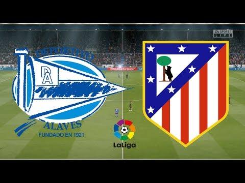 La Liga 2019/20 – Alaves Vs Atletico Madrid – 29/10/19 – FIFA 20