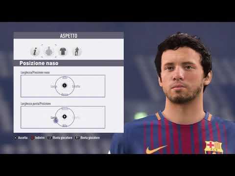 Carles Aleña – FC Barcelona – Fifa 18 – Create Face
