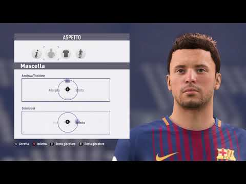 Abel Ruiz – FC Barcelona – Fifa 18 – Create Face