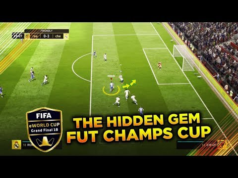 THE HIDDEN OVERPOWERED SKILL MOVE in FUT CHAMPIONS BARCELONA CUP – FIFA 18 SKILL TUTORIAL