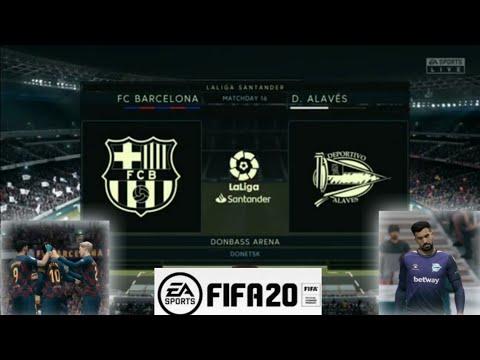 FC Barcelona vs D. Alaves – Laliga (FIFA 20)