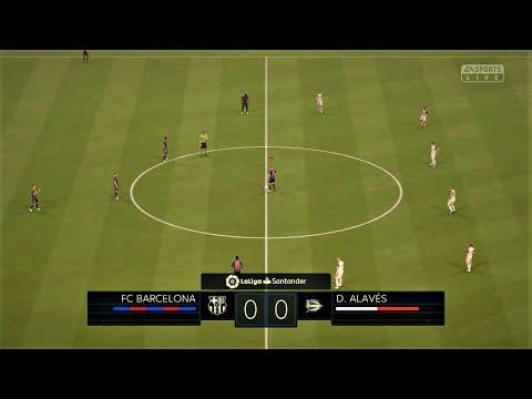 FIFA20   FC BARCELONA VS D. ALAVES GAMEPLAY