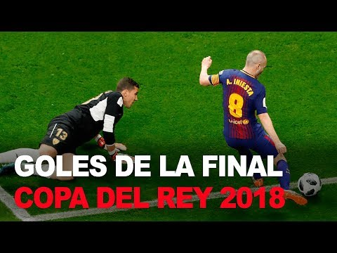 Sevilla 0-5 Barcelona GOLES | Final Copa del Rey 2018 | Fútbol