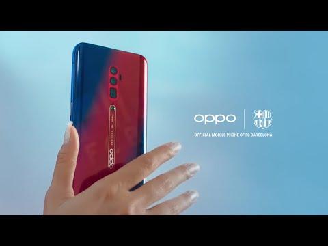 OPPO Reno FC Barcelona Edition – Be A Super Fan